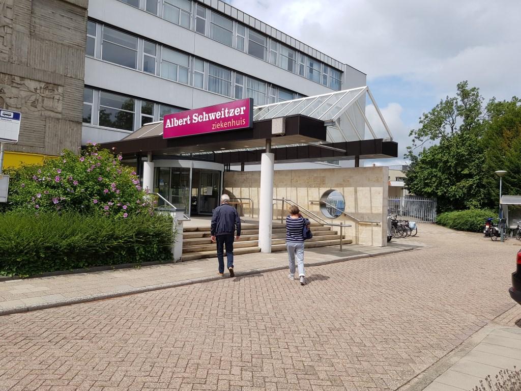 Het ziekenhuis aan de Wilhelminastraat sluit de deuren. Marjanne Dijkstra © BDU media