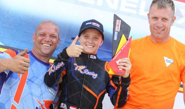 Karter Milan Kok wint X30 Cadet-klasse in Benelux-kampioenschap