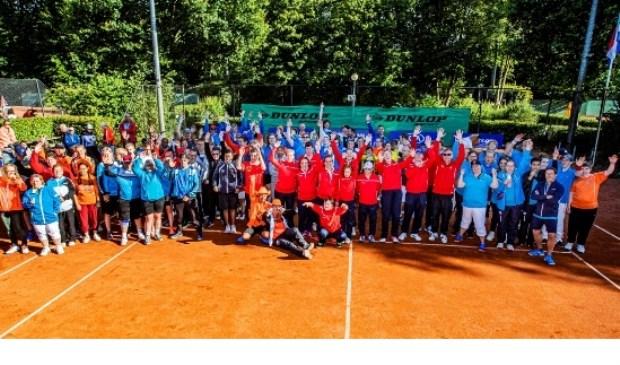 NK G-Tennis groot feest voor G-tennissers TC Atalanta
