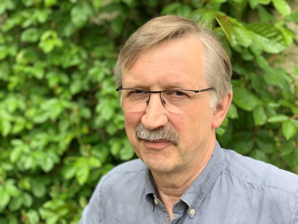 Aids specialist Jos Frissen uit Baarn.  Baarnsche Courant  © BDU media