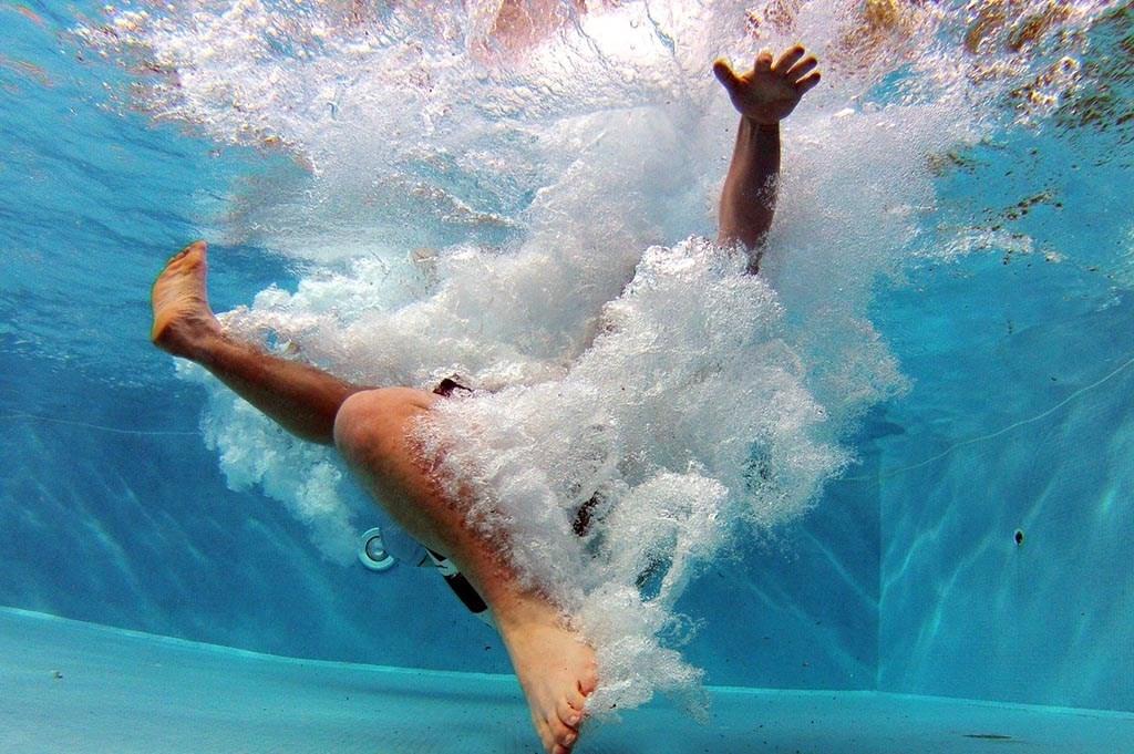 Ook onderwater ziet een bommetje er spectaculair uit. Optisport © BDU media