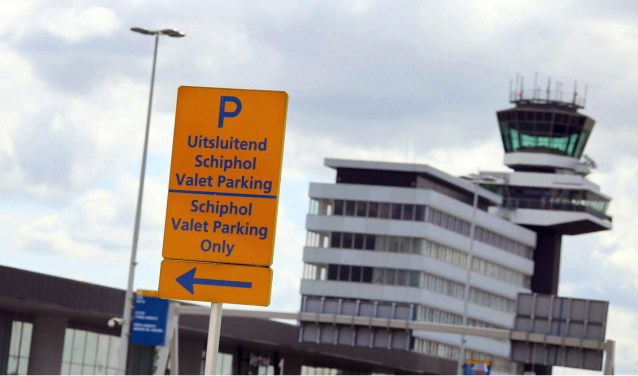 Valet Parking is big business op Schiphol.