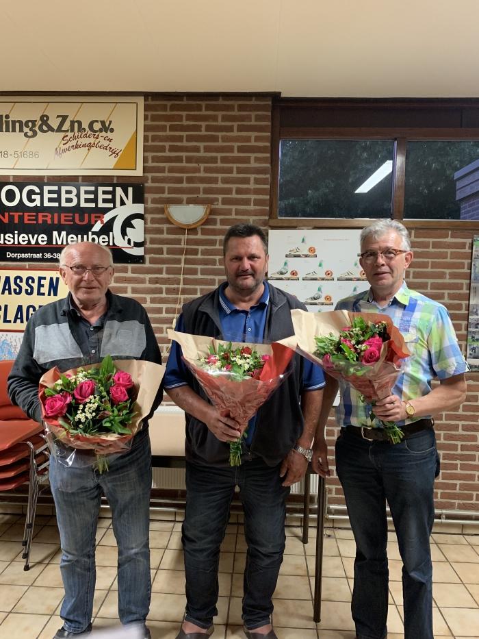 G. Doppenberg, K. v/d Broek en H.J Ligtermoet