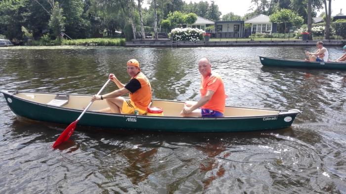 Kayakken op De Giessen.