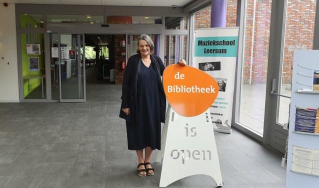 Mariet Wolterbeek wil een bieb op de centrale plek in het dorp, zoals in De Binder in Leersum.