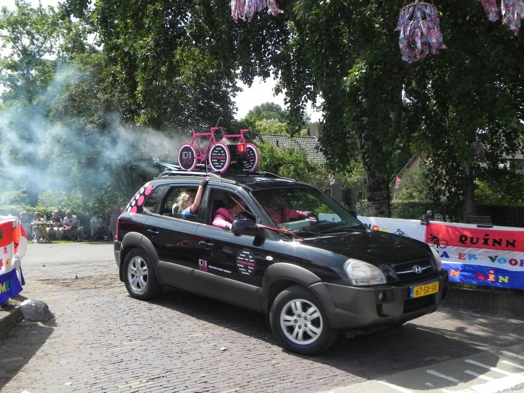 Deze volgwagen wist met geluid- en rooksignalen de aandacht op zich te vestigen. Richard Thoolen © BDU media