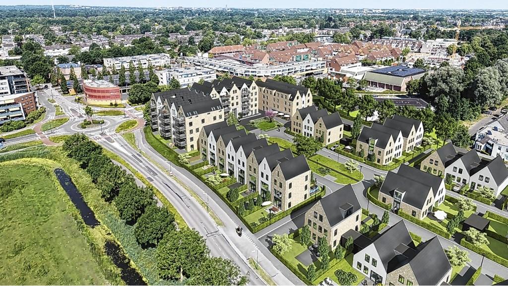 Project De Verborgen Tuinen. De Hamershof onder handbereik en uitzicht op de Schoolsteegbosjes. Archief BDU Media © BDU media