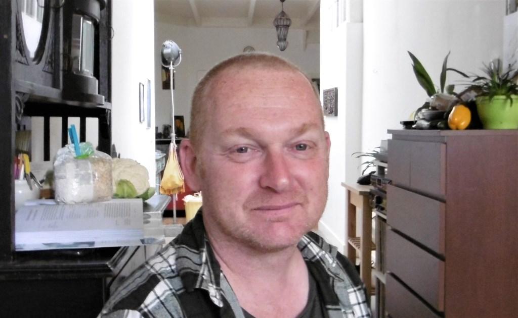 Rob Molenkamp thuis, kort na zijn vertrek uit de SP.