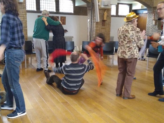Dansles bij GGz Centraal locatie Zon & Schild