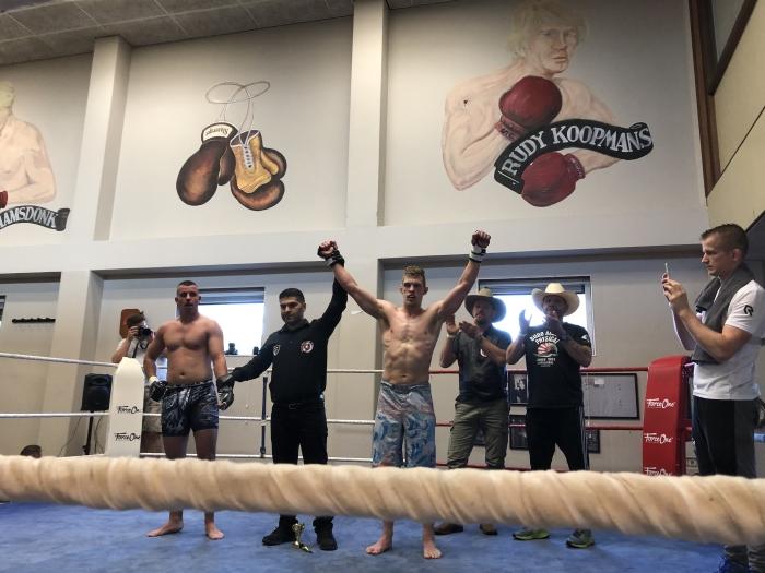 Thomas overtuigend winnaar MMA Audrey Kruyning © BDU Media