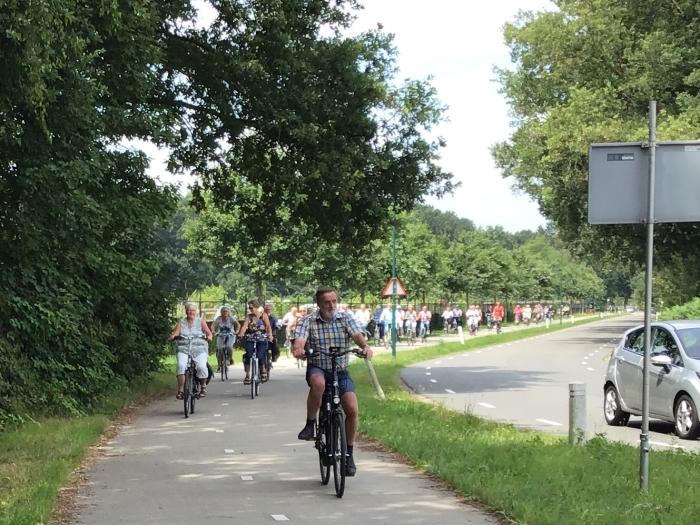 fietsen met Senioren Belangen