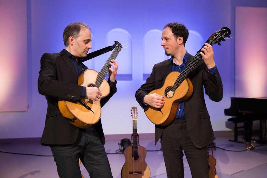 Gitaristen Fernando Cordas en Izhar Elias spelen op 28 maart het wereldberoemde 'Adagio' uit Rodrigo's 'Concerto de Aranjuez'.