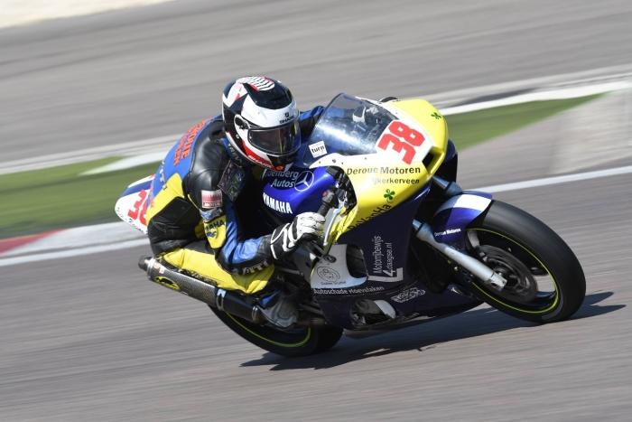 Michael Mijnten Op de Yamaha R6 van Deroue Motoren.