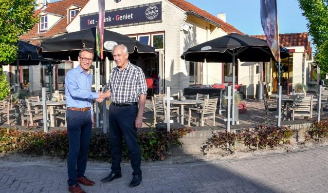Tomassen en Schoonderbeek maken samen plannen voor de locatie van Houtrust.