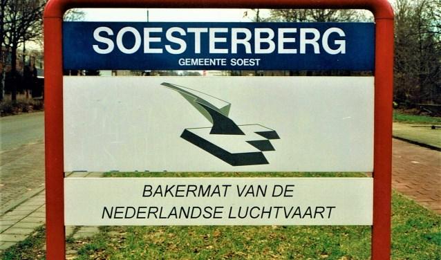 De onderborden zijn verdwenen. Soesterberg heeft steeds minder affectie met de gemeente Soest, zo lijkt het.