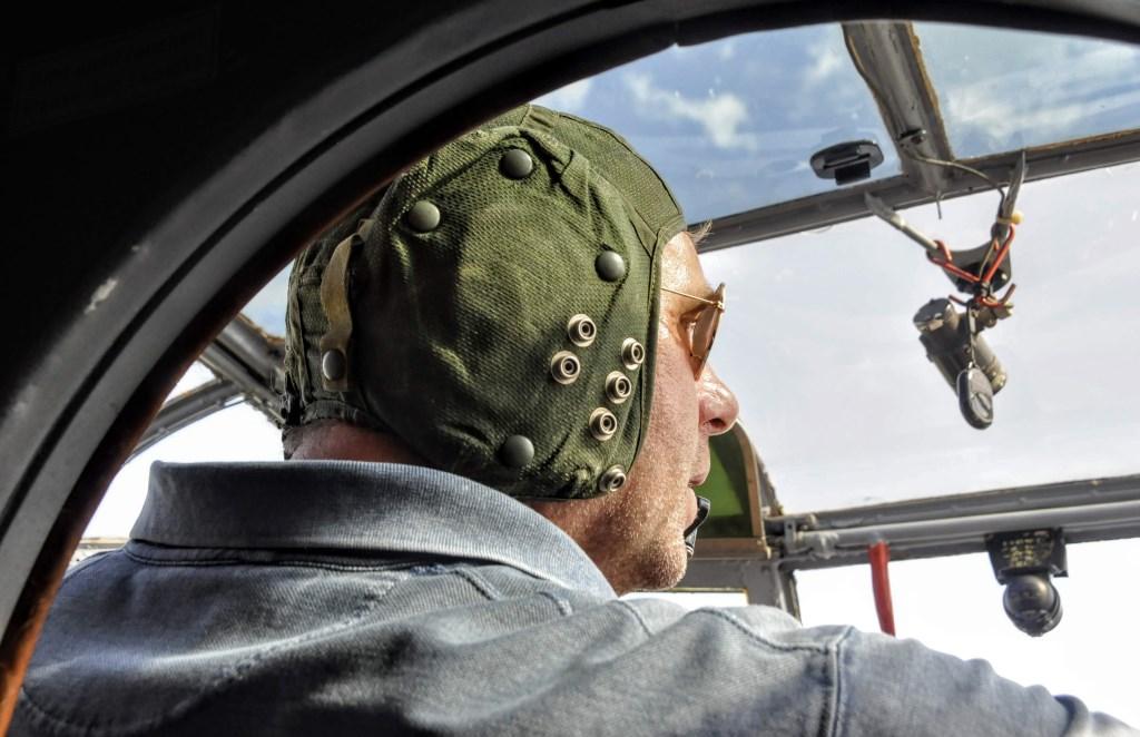 Opperste concentratie bij piloot Rob de Man. Erik Roest © BDU media