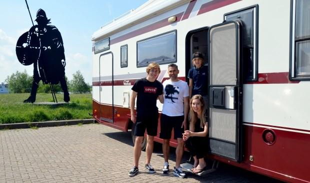 Mido, Sicco, Boet en Marije zijn bijna klaar voor de reis