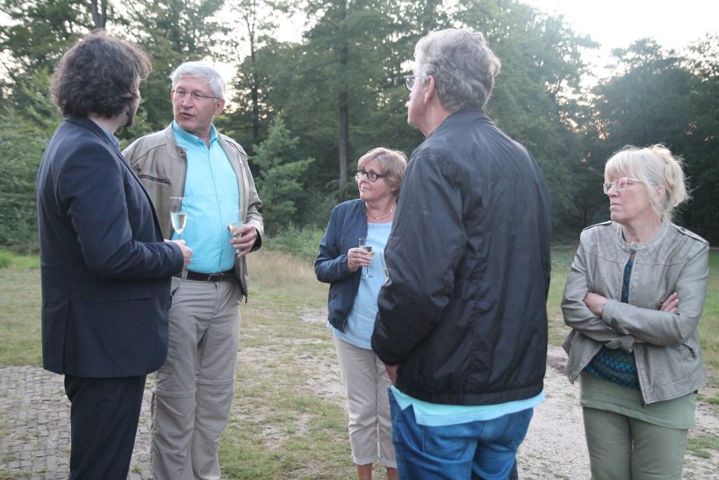Na afloop is er al overleg over een vervolg voor Woudenberg Hannie van de Veen © BDU media