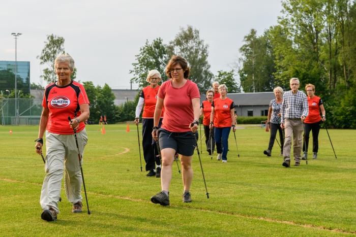 Training nordic walking