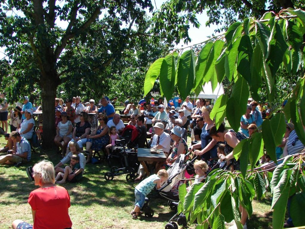 Veel publiek bij het Shantykoor. wes janssen © BDU media