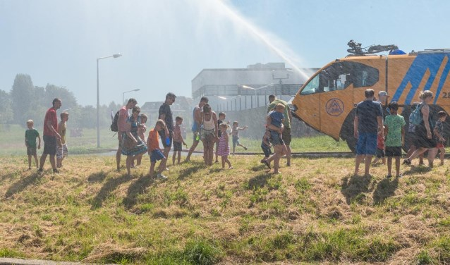 ... was nodig met dit warme weer René van den Brandt © BDU media