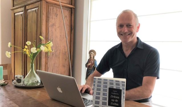 De Doornse schrijver Gern Huijberts hoopt dat heel veel mensen plezier beleven aan het lezen van zijn boek.