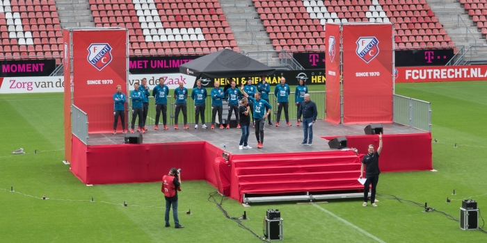 voorafgaand de trainers presentatie Klaas Haitsma © BDU media