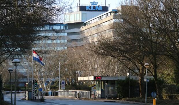 Het huidige hoofdkantoor van de KLM aan de Amsterdamseweg in Amstelveen.