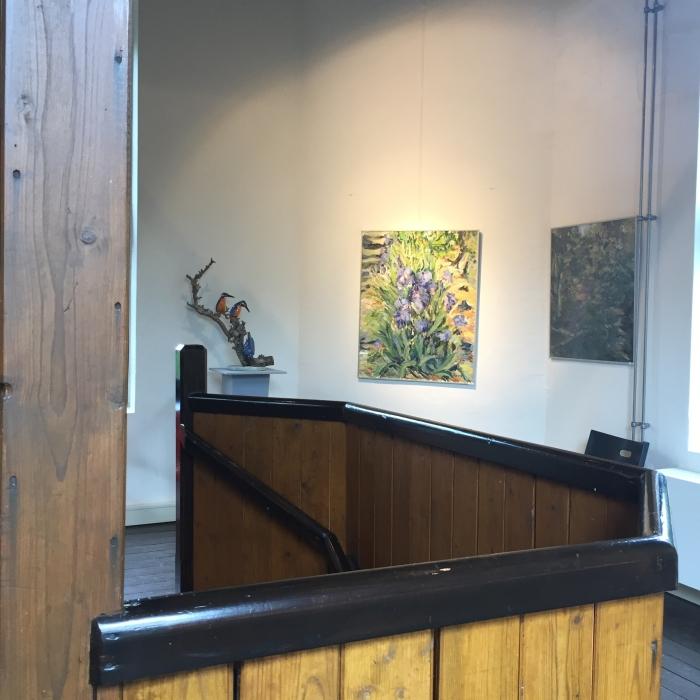 Keramiek en schilderijen in de Koepel in Lunteren. Koepelcommissie © BDU media