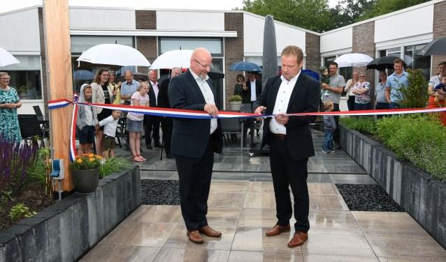 Opening tuin Maashof