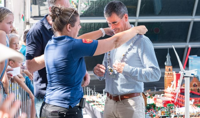 Officieel Burgemeester Incidenten City René van den Brandt © BDU media