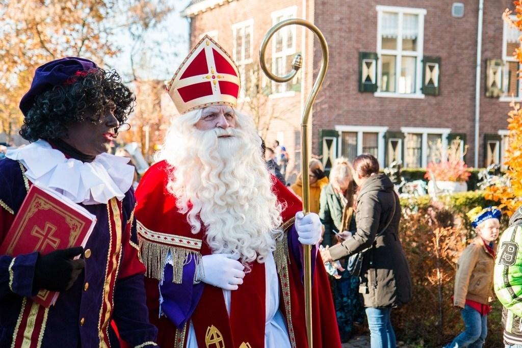 Sinterklaas in Woudenberg. Joke van der Heide © BDU media