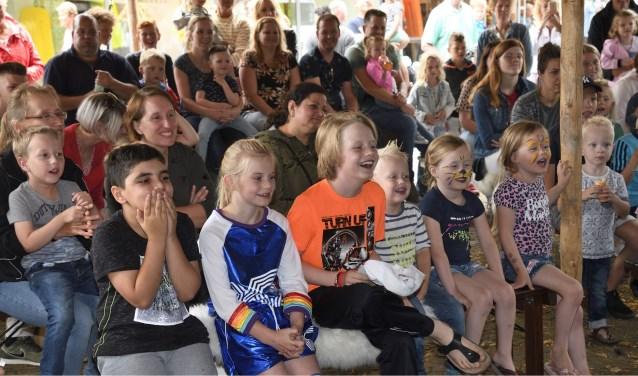 BOOM IN' feest in het centrum van Putten, een initiatief van VVV Putten en Cultuurkust i.s.m. WCP.