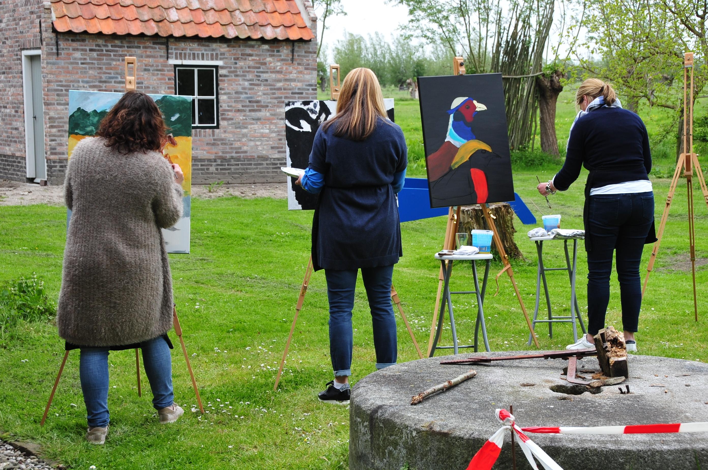 Schilders in actie Museum De Koperen Knop © BDU media