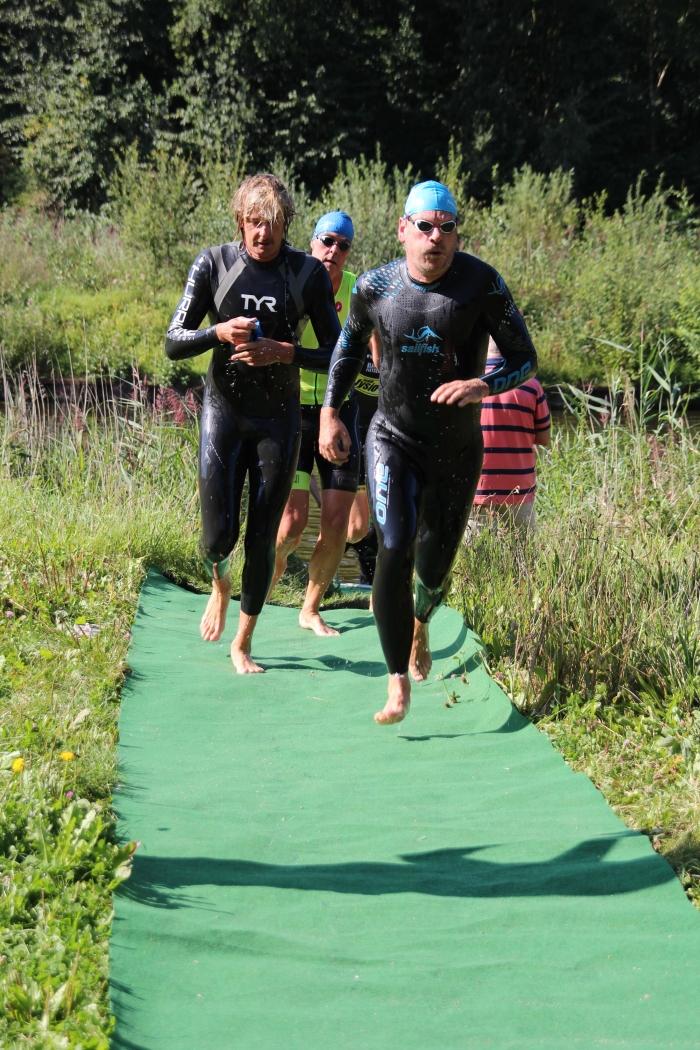 Deelnemers 1 TVZ Parel Triathlon © BDU Media