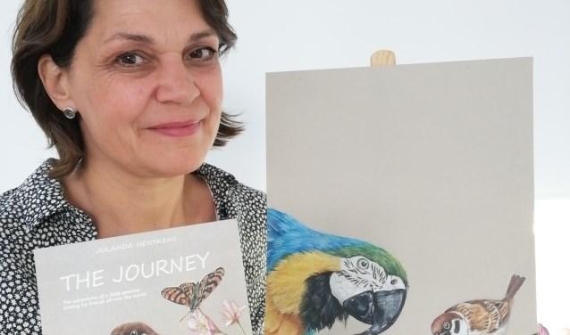 In het eerste geïllustreerde prentenboek van Jolanda Henskens speelt een ringmus de hoofdrol.