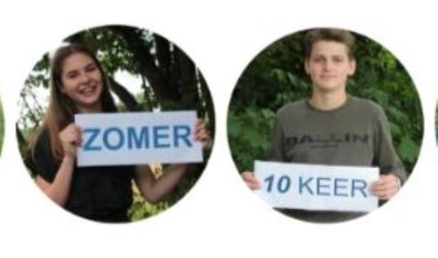 Veerle van Leeuwen, Floor Steenberg, Nick Voorn en Rens Stigteruit klas 4 van het Openbaar Lyceum Zeist ondernemen actie tegen het zwerfafvalprobleem in en rondom Nederland.