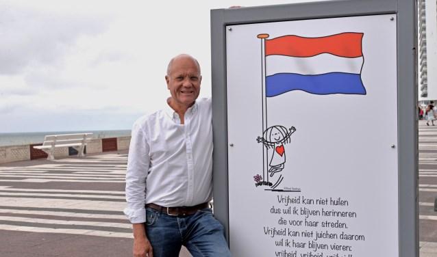 In de maanden juli, augustus, september en oktober fleuren diverse 'Jabbertjes' in groot formaat de boulevard van Zandvoort op.