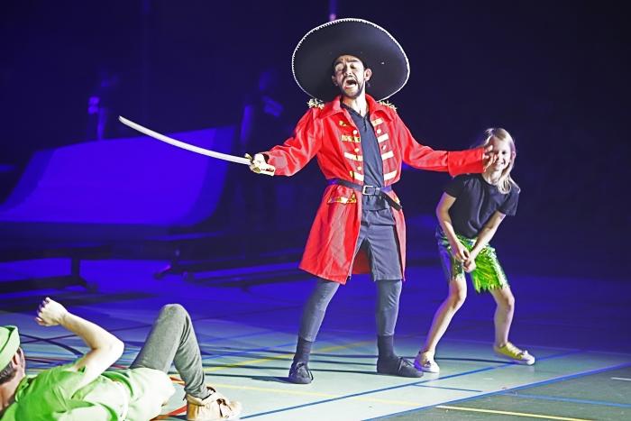 Kapitein Haak en Peter Pan