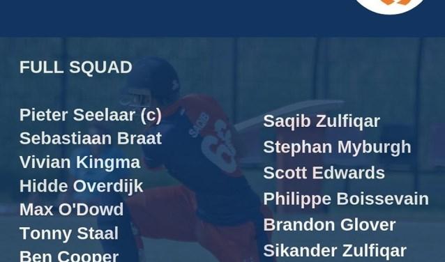 De Gorinchemse broers Saqib en Sikander Zulfiqar spelen een T20 wedstrijd met Oranje tegen VAE.