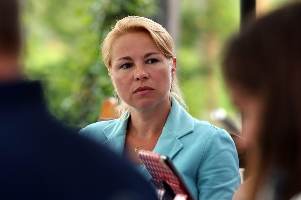 CDA-raadslid Pam van de Weijer-Feuerstein. CDA Nijkerk-Hoevelaken © BDU Media