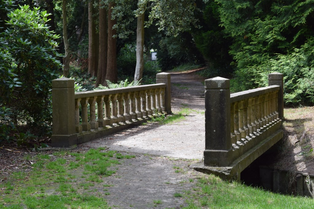 De betonnen brug in het Cantonspark. Christine Schut © BDU media