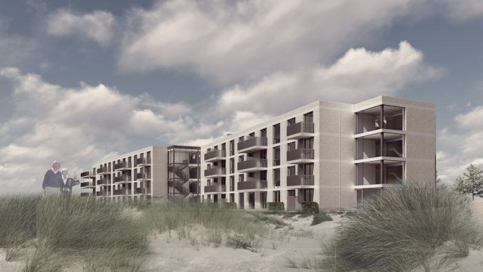 Impressie nieuwbouw Huis in de Duinen