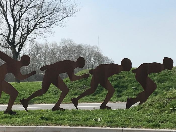 Droog schaatsen. museum De Koperen Knop © BDU media