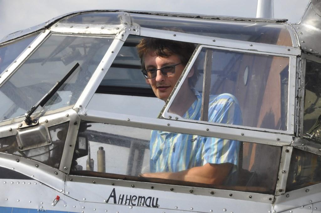 Even voelen hoe het is om piloot te zijn Erik Roest © BDU media