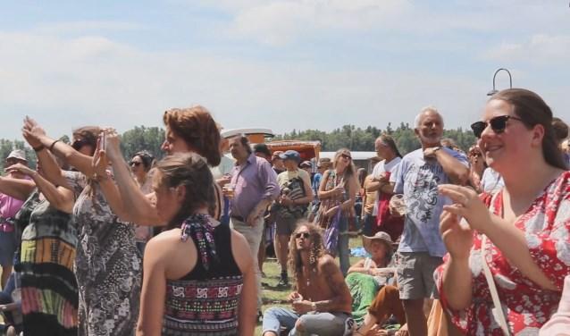Er wordt volop genoten op het Hippiefestival in Gorinchem