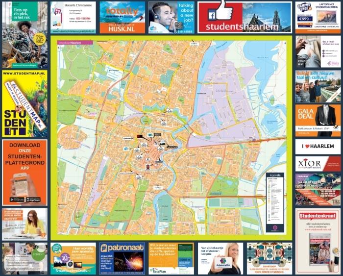 Studentenplattegrond Haarlem