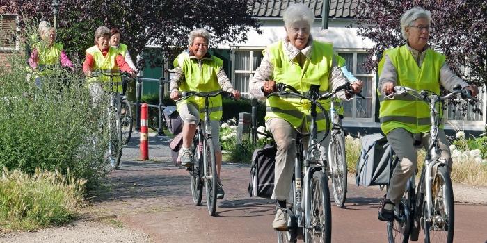 deelnemers fietstocht SAB Gerard van Santen © BDU media