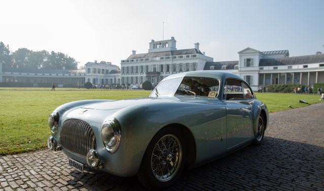 Een Cisitalia uit 1947 van het Italiaanse automerk Consorzio Industriale Sportive Italia.