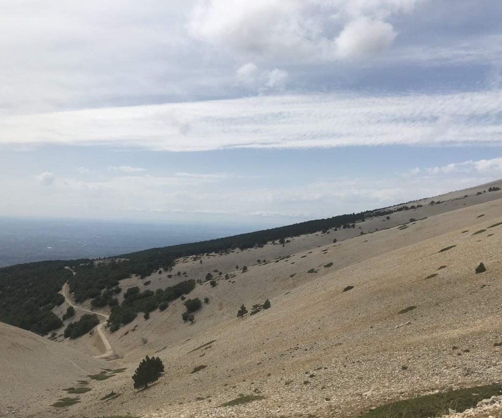 Uitzicht vanaf de Mont Ventoux, Frankrijk Kaisa Puik © BDU media